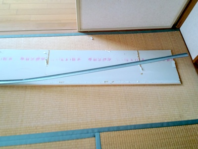 天井板の石膏ボード