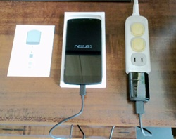 Nexus5充電